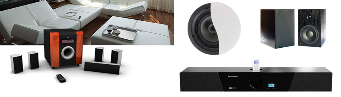 Home Audio Banner