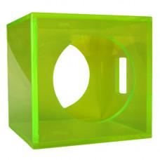 "Translucent Acrylic 10"" Round Driver Sealed Woofer 1.2cf Enclosure"
