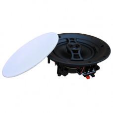 "In-Ceiling / In-Wall Edgeless Flush Mount Speaker - 6½"" 2-Way, Pair Pack"