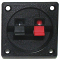 "2.25"" Square Plate Push Terminal Cup, Screw Mount"